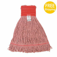 1pc 680g/24oz. SunnyCare #22681-1pc Red Synthetic Cotton Loop-End Wet Mops