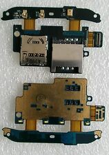 Original Flex micro SD memoria las SIM lector Reader slot HTC Desire S g12