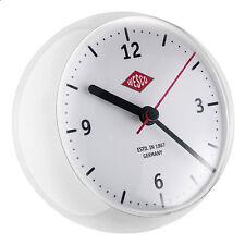 Wesco MiniClock in Weiß Uhr mit Eieruhr Spacy design Kurzzeitmesser Neu OVP