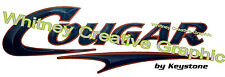 """"""" COUGAR""""  RV  Vers 2 Graphic Lettering Decal 35"""" X 11.5"""" Made fresh NOT expired"""