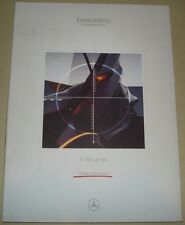Mercedes Daimler Benz 1997 F 300 Life Jet Very Rare Press Media Kit Pressemappe-