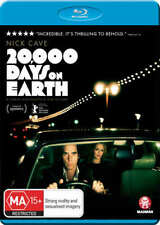 Nick Cave - 20,000 Days On Earth (Blu-ray, 2014)  Region B  New Sealed