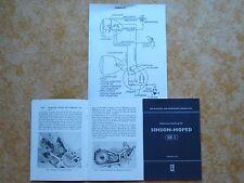 Reparaturanleitung Simson  Moped SR 1 Reparaturhandbuch  mit Schaltplan NEU