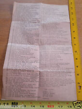 1967 Music Store song survey list The Beatles All You need is Love