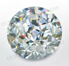 2 ct Round Cosmic Cut Extreme Fire Top CZ Imitation Moissanite Simulant 8 mm