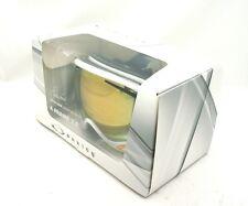 NEW Oakley A Frame® 2.0 Snow Goggles POLISHED WHITE/24K IRIDIU Iridium