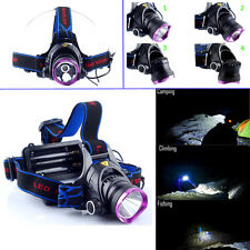 Brand New 5000LM T6 LED Headlamp Waterproof Headlight Head Lamp Light Torch