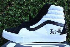 VANS SYNDICATE SK8 HI S SZ 8 OG ICE T RHYME PACK BLACK WHITE VN 0PW7AN4