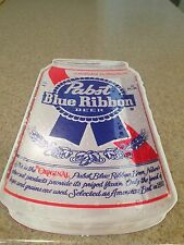 Pabst Blue Ribbon Beer Can Ad for Bars or Game Rooms
