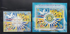 Phlippine Stamps 2010 Rotary International (Philippine Rotary 90th Ann.) Cpl set