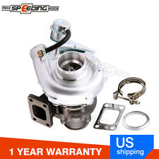 For HYBRID T3 T4 T03 T04E Universal Turbo Turbocharger 420HP Turbine 0.63 A/R