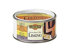 Liberon LIBLW250 Liming Wax 250ml Add a white colour to the grain of hardwood