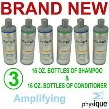 Physique Amplifying Shampoo & Conditioner,6 Each 16 Ounce Bottles,New