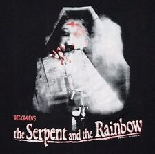 M/L * vtg 80s 1987 The Serpent And The Rainbow Wes Craven horror movie t shirt