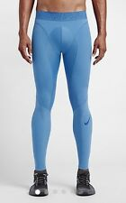 Nike Pro Hyper Compression Training Tights Pants 646368 415 Blue Mens Sz 2XL $90