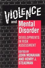 Violence and Mental Disorder: Developments in Risk Assessment (The Joh-ExLibrary