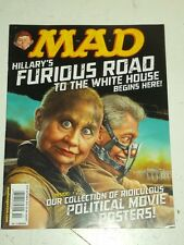 MAD #535 OCTOBER 2015 UK MAGAZINE HILLARY CLINTON BILL CLINTON