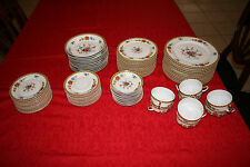 Rare Antique Limoges Vignaud VIG127 Full Set/8 w Serving Dishes & Extra Pieces