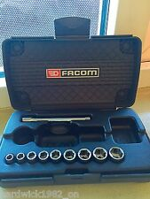LAST FEW LEFT FACOM 1/4 DRIVE 5.5mm - 13mm METRIC SOCKET EXTENSION TOOLKIT +CASE
