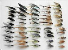 50 Wet Trout Fishing Flies 10 Varieties - Mixed hook Size, Named Varieties