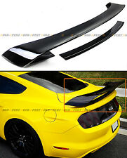 For 2015-17 S550 Ford Mustang GT350 Style Painted Black Rear Trunk Spoiler Wing