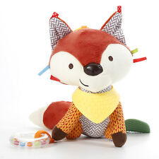 1*Baby Toy Soft Plush Fox Stroller Toy Baby Bell Crib Bed Hanging Animal Toy New