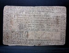 Colonial Currency ✪ Pennsylvania April 10Th 1777 ✪ Fr Pa-219A 8S ◢Edelmans◣
