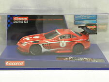 Carrera 30510 Digital132 Slot Car Mercedes-Benz SLR McLaren 722 GT SLR No.8