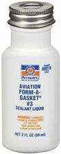 PERMATEX NO 3 AVIATION FORM A GASKET LIQUID SEALANT MARINE AUTOMOTIVE