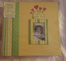 Baby Photo Album CR Gibson I'm Ga Ga Over You Yellow New Holds 200 Photos