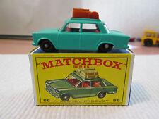1965 Matchbox Lesney Teal Fiat 1500 Car No. 56 - (MIB)