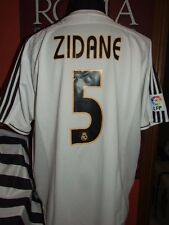 ZIDANE REAL MADRID 2003/2004 MAGLIA SHIRT CALCIO FOOTBALL MAILLOT JERSEY SOCCER