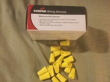 Cooper Wiring Devices 100 Pc. Yellow 44-3-box Medium Size  600V