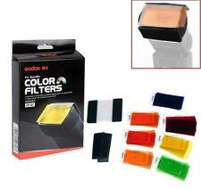 Godox 7 Colors 35PCS Photography Speedlite Flash Square Gel Filter with Velcro