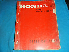 1965 1966 1967 1968 65 66 67 68 HONDA CB450 CB 450 K0 PARTS MANUAL BOOK CATALOG