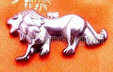 SALE Big 48*25mm Lion Shape Black natural Hematite Pendants-nec5733