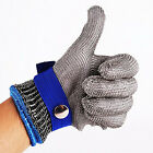 Durable Safety Cut Proof Stab Resistant Stainless Steel Metal Mesh Butcher Glove