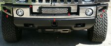 FITS HUMMER H2 2003-2009 STAINLESS CHROME FRONT BUMPER ACCENT W/ GRILLE TRIM