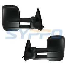 99-02 Chevy Silverado GMC Sierra Towing Telescoping Mirrors Set POWER HEATED