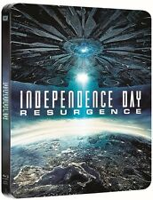 Independence Day:Resurgence Limited Steelbook 3D + 2D Blu Ray