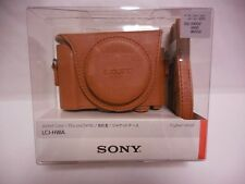 SONY LCJ-HWA TIC Camera Jacket case for DSC-HX90V/WX500 Light Browon From Japan