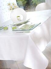Nappe en toile cirée rect 140x250 cm Gourmandise blanc