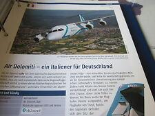 Airlines Archiv Italien Air Dolomiti 4S