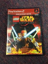 LEGO STAR WARS: THE VIDEO GAME, FOR PLAYSTATION 2, PS2, Complete