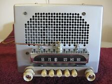 BEAUTIFUL RESTORED 1951-1952 CHEVROLET RADIO DELUXE 6 VOLT 51-52 CAR PLAYS FINE