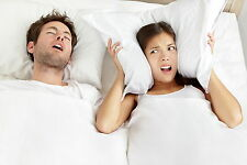 Too Noisy to Sleep? EAR PLUGS to Reduce Noise Snoring Insomnia 1 Pair Protection