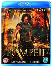 Pompeii  2D Blu Ray New 2014 Kit Harrington