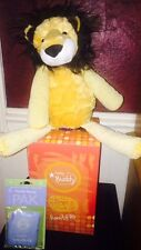 New In Box Scentsy Buddy Roarbert The Lion Retired Rare WITH scent Pak