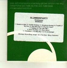 (DE172) Slumberparty, Slumber Party - DJ CD
