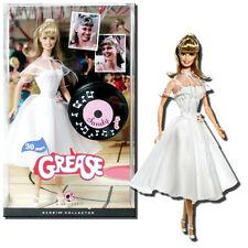 BARBIE PINK LABEL COLLECTOR EDITION GREASE BARBIE AS SANDY DOLL